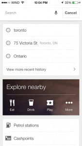 Google Offline Maps Save Specific Place Step 2a