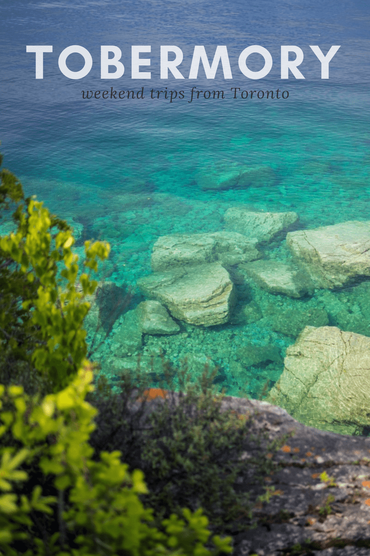 A Perfect Weekend to Tobermory and Bruce Peninsula National Park