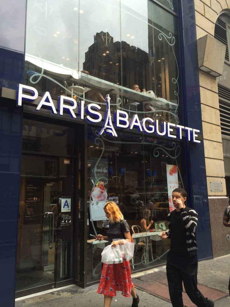 Paris Baguette on 7th Ave