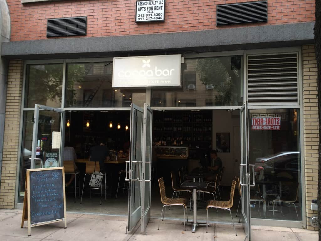 Cocoa Bar in the Lower East Side
