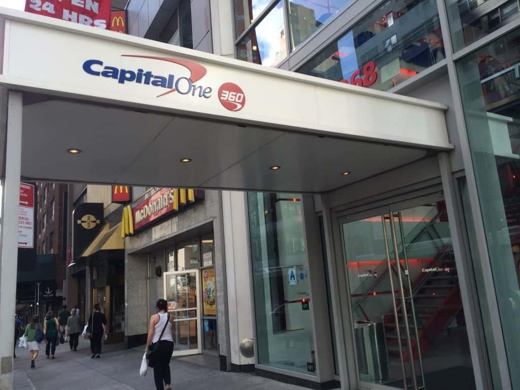 Capital One 360 Cafe Entrance