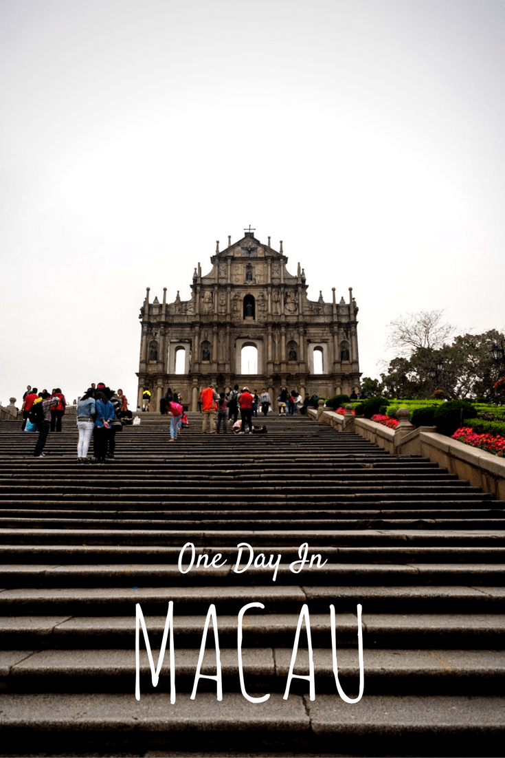 1 Day Itinerary in Macau - A Day Trip From Hong Kong