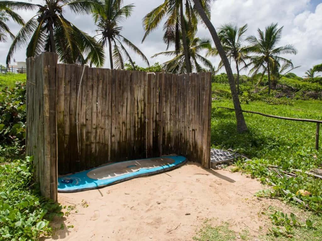 macao surf camp shower