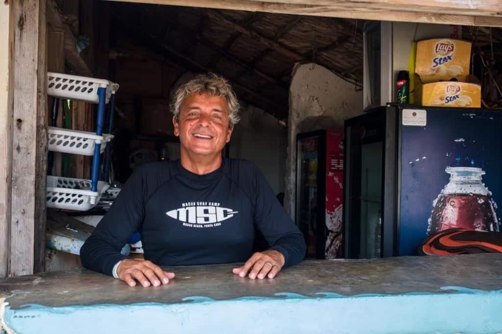 profile photo of director of macao surf camp rafael ferreras