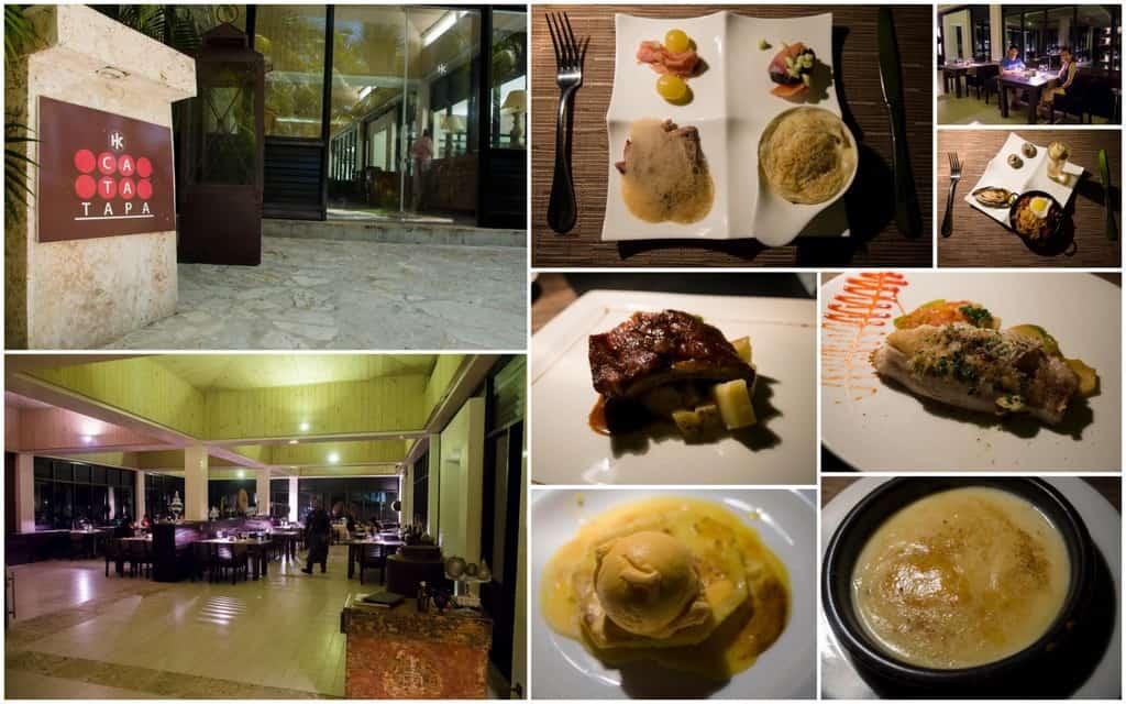 cata tapa tapas and spanish cuisine for dinner at royal bavaro