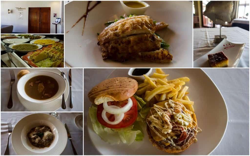 thalassa lunch buffet items at catalonia royal bavaro