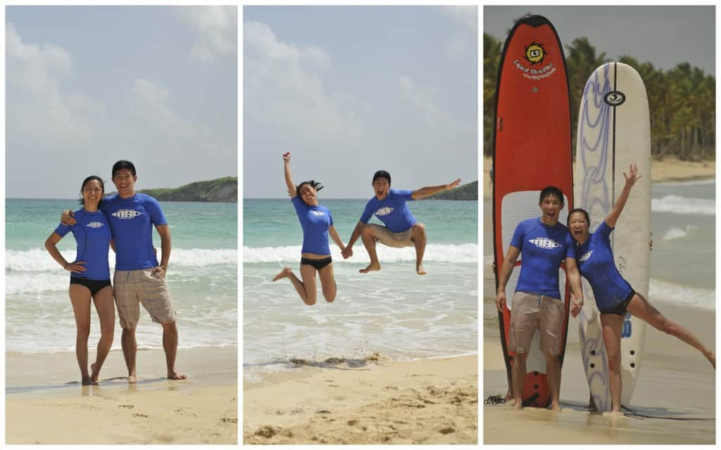examples of macao surf camp photoshoot package that can be purchased