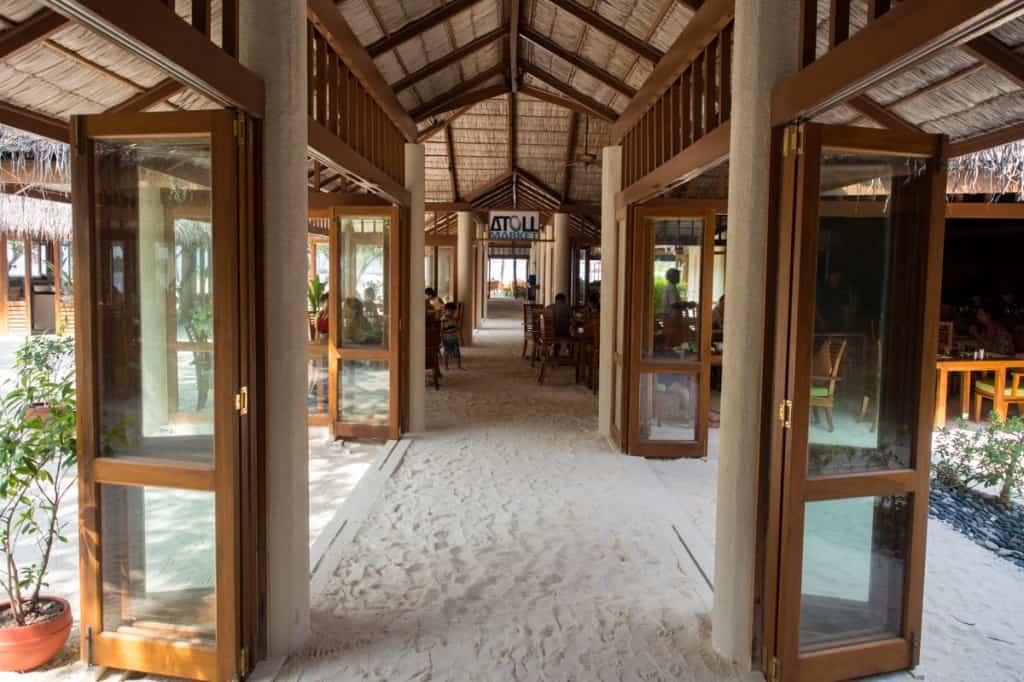 Atoll Restaurant Conrad Maldives