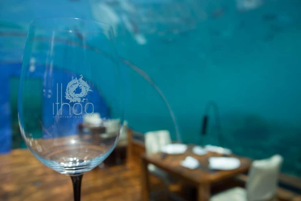 Ithaa Restaurant at Conrad Maldives