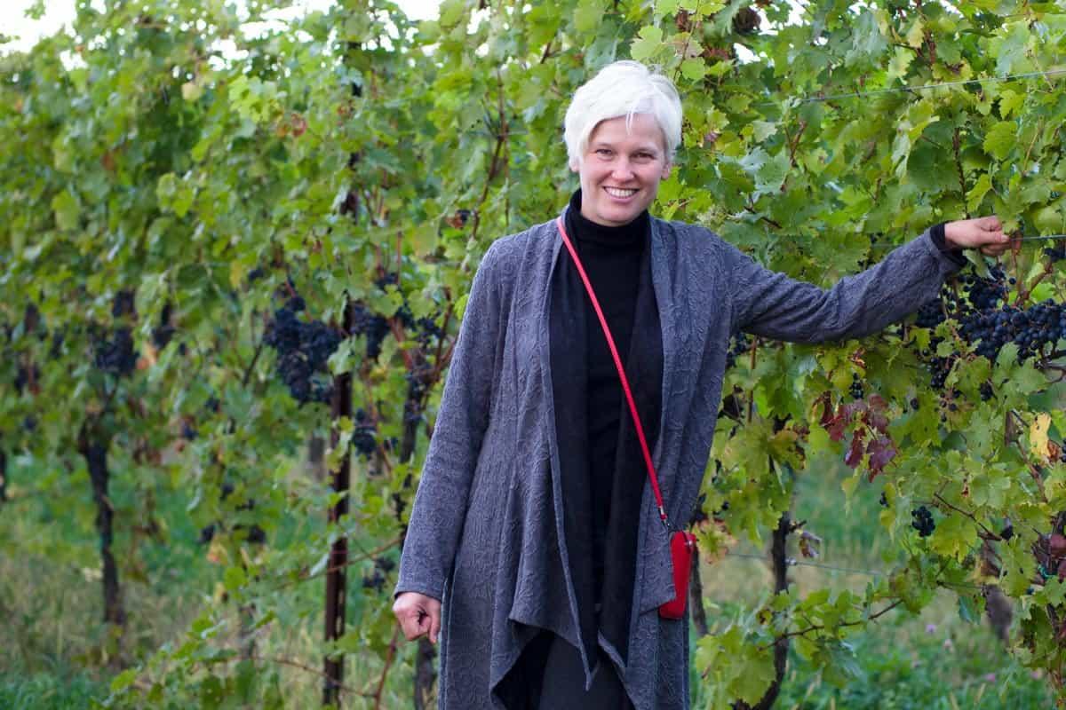Robin Ross, owner of Arrowhead Spring Vineyards