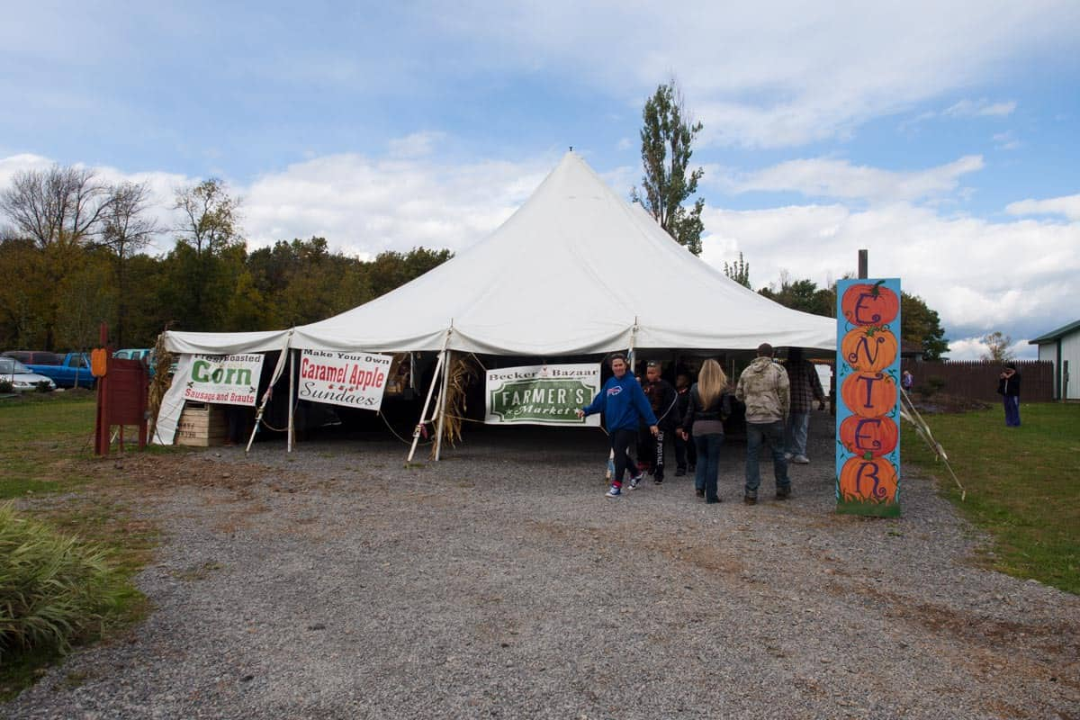 Activity tent