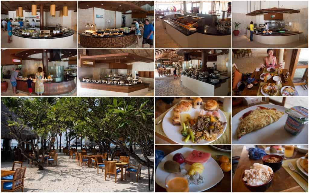 Atoll Restaurant Collage