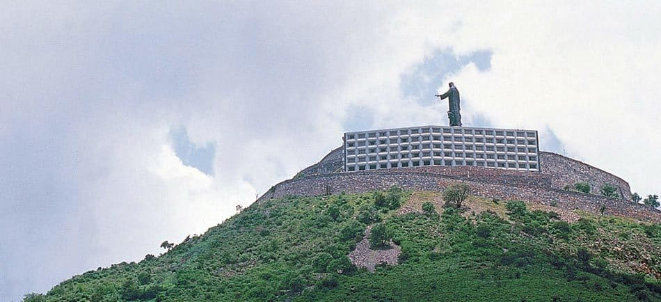 El Cerro del Cubilete and Monumento a Cristo Rey
