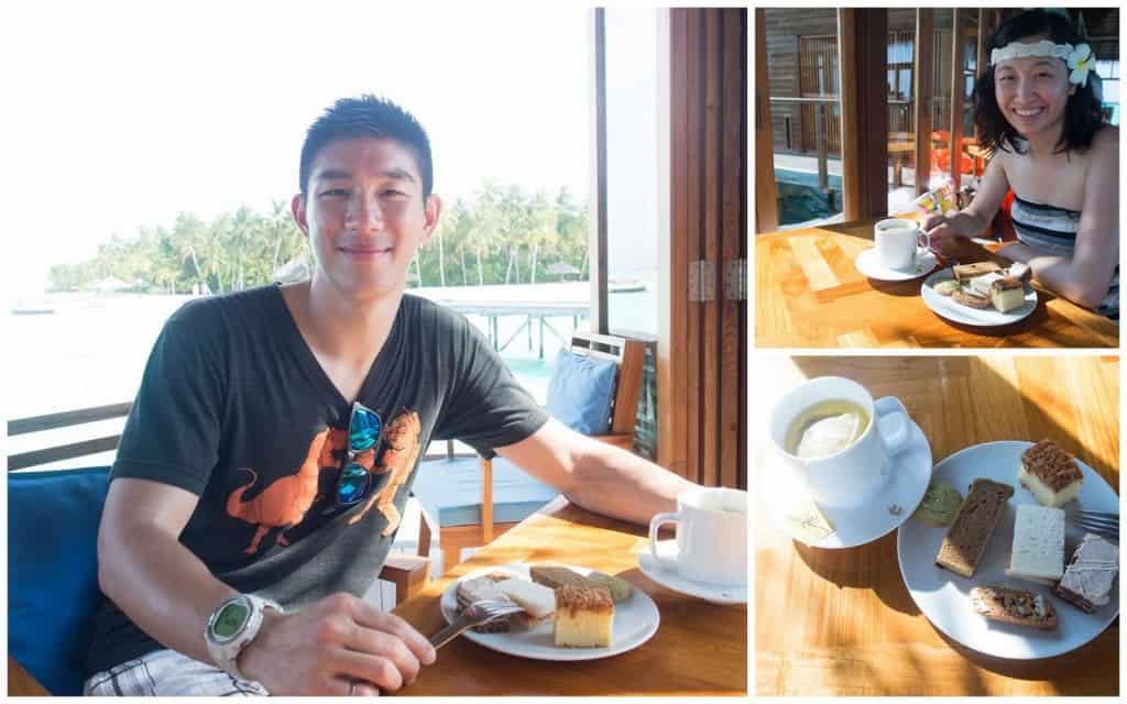 Mandhoo Afternoon Tea Collage