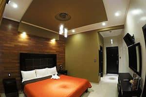 hotel san diego in guanajuato bedroom