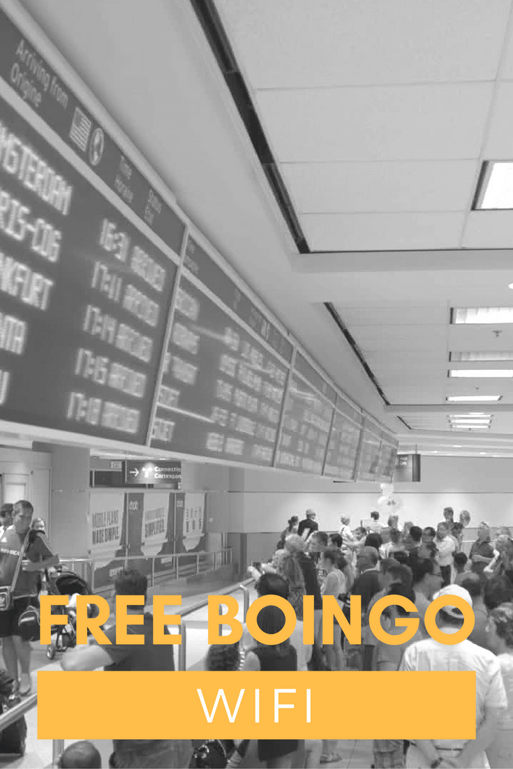 Paying for wifi at airports suck. Don't be a sucker and use this hack to get free wifi out of Boingo in the USA with this travel hack.