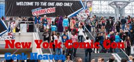 New York Comic Con – Geek Heaven