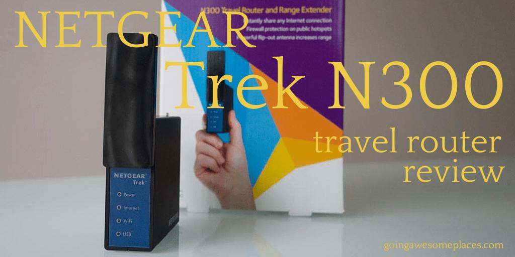 NETGEAR Trek N300 Travel Router Review - Wifi Versatility