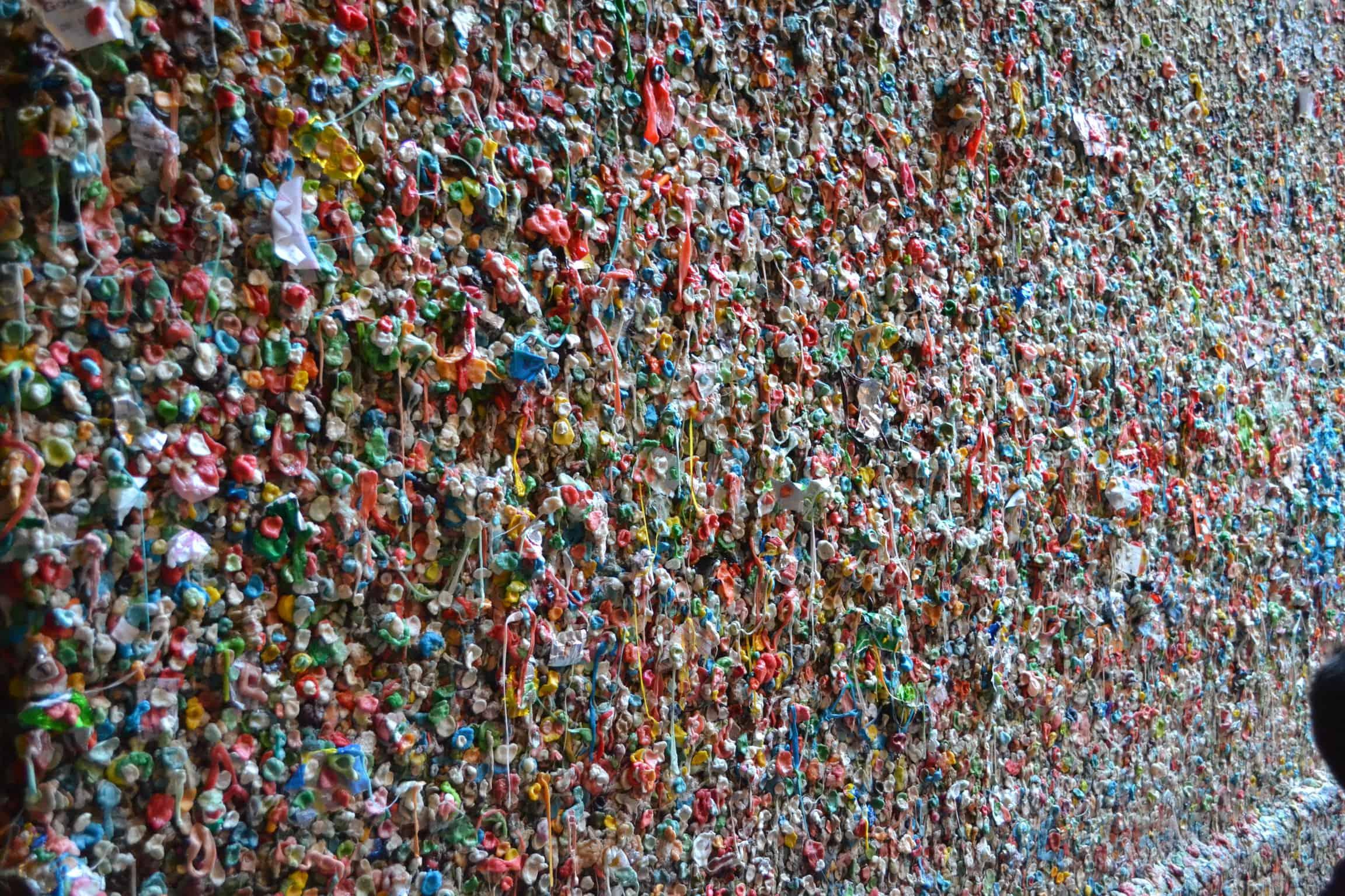 seattle bubble gum wall