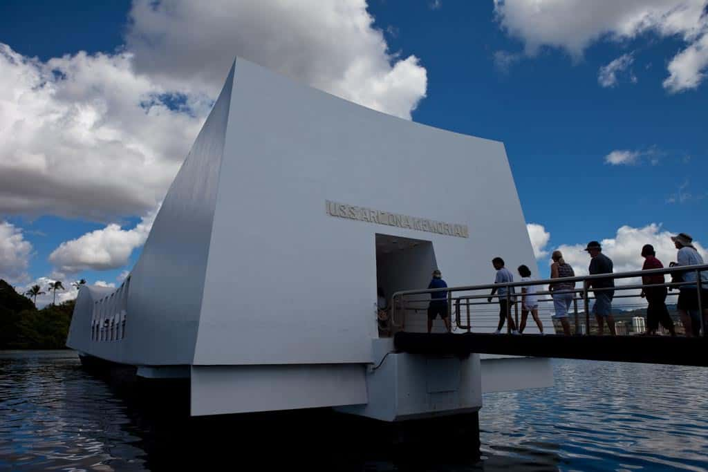 pearl harbor uss arizona memorial in day 1 of honolulu 2 day itinerary