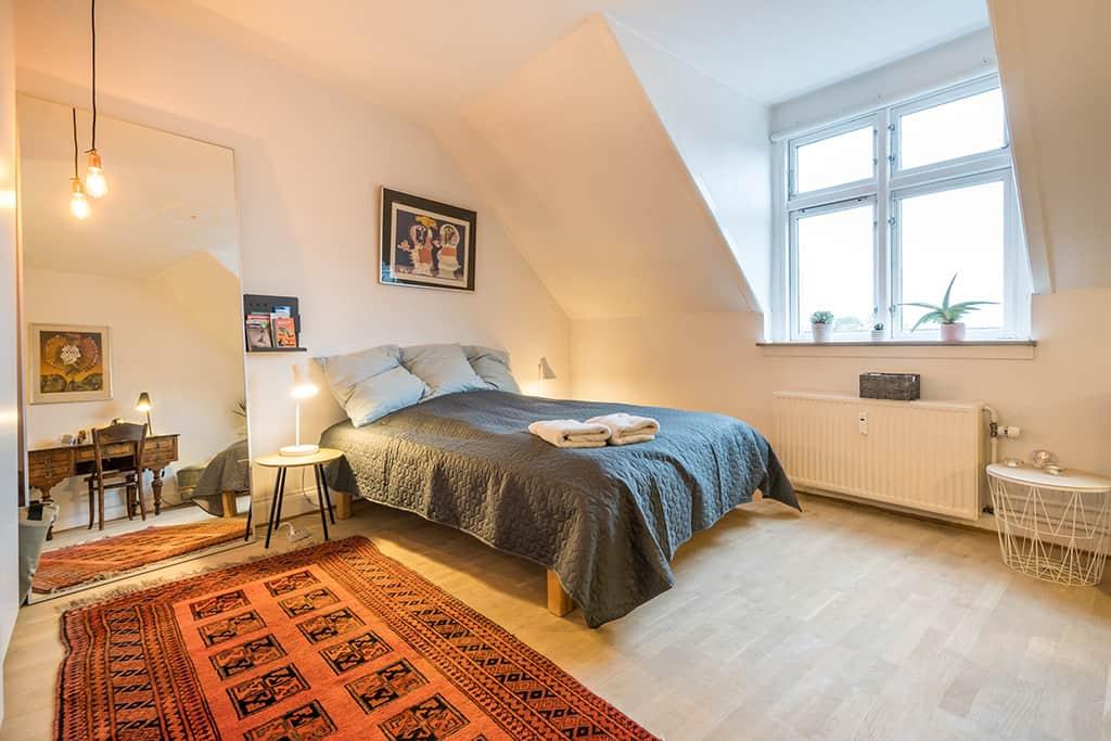 trendy norrebro neighbourhood airbnb in copenhagen