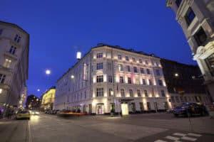 absalon hotel in Copenhagen exterior