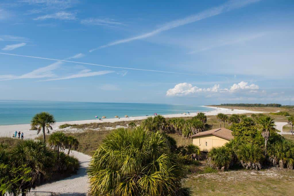 View From The Top of Fort De Soto