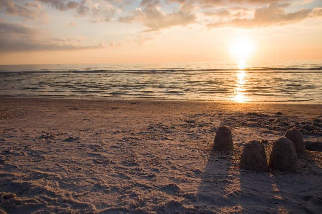 Sunset at the Sirata Beach Resort