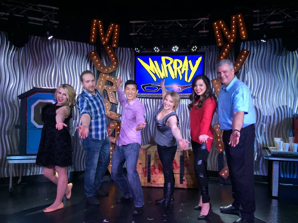 The Sinterns with Murray Sawchuck at Planet Hollywood.