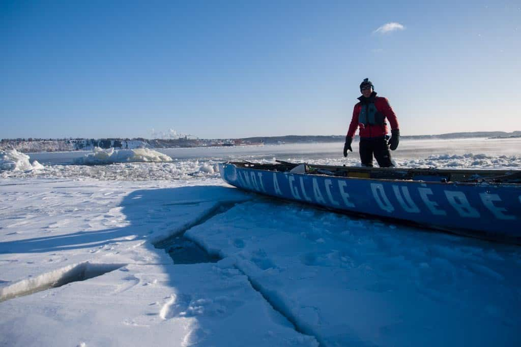 Will with the Ice Canoe