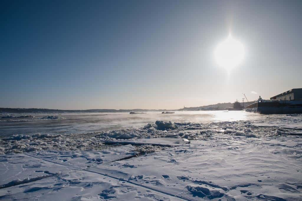 Icy Waters On the St. Lawrence