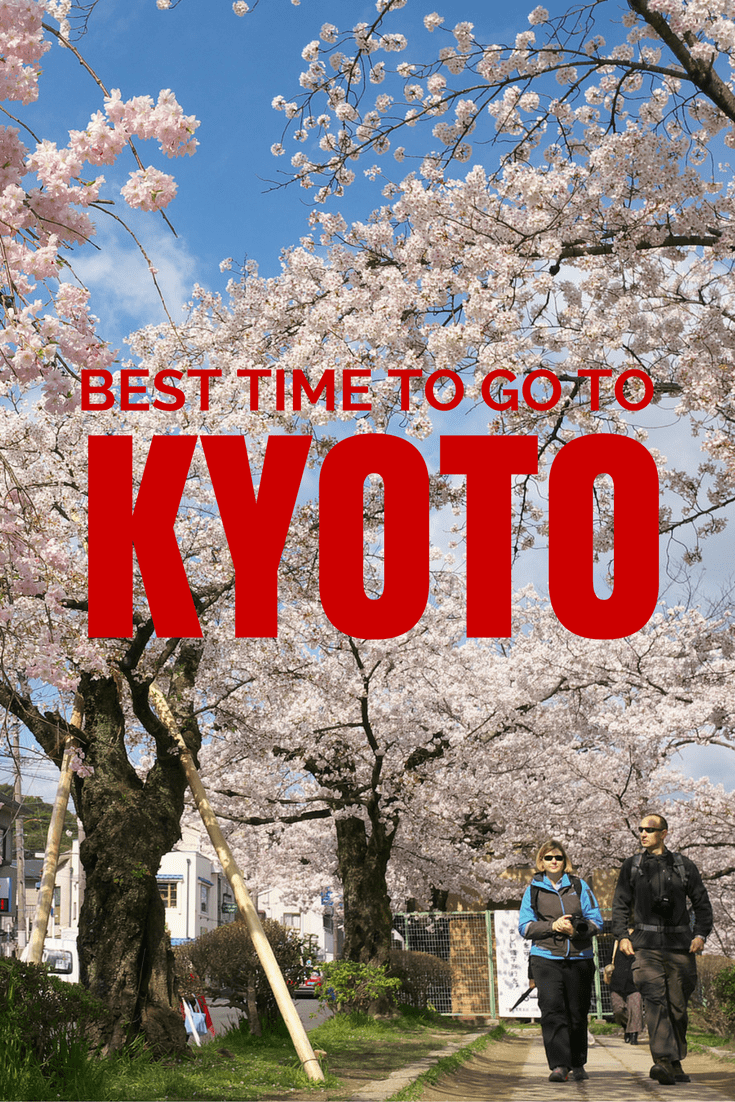 Every month and season presents a different side to Kyoto with different weather, festivals and events. Find out which time of the year is the best time to go to this incredible city of culture in Japan. #Kyoto #VisitJapan #Japan #thingstodo #wheretostay #tripplanning #besttime #travel #japantravel #festivals