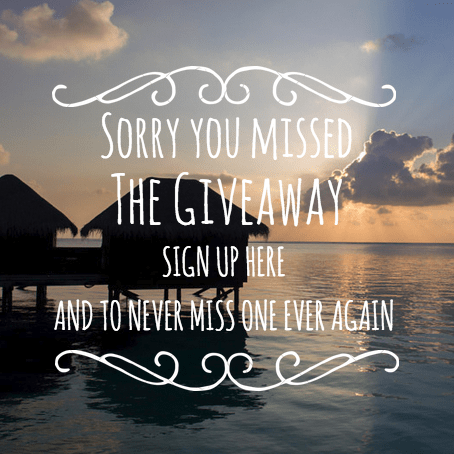 Giveaway Missed Newsletter Signup