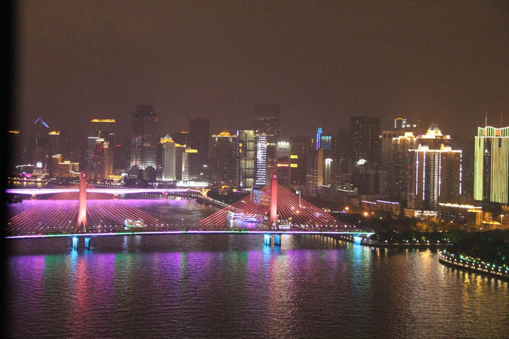 Guangzhou Lights At Night