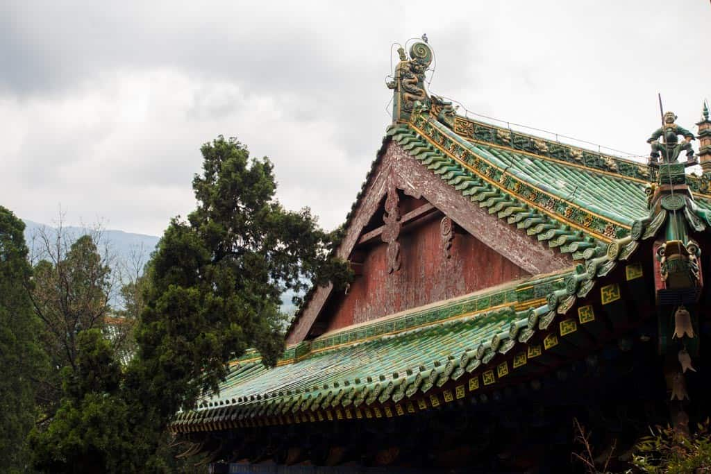 Love the intricate roof designs of these temples.