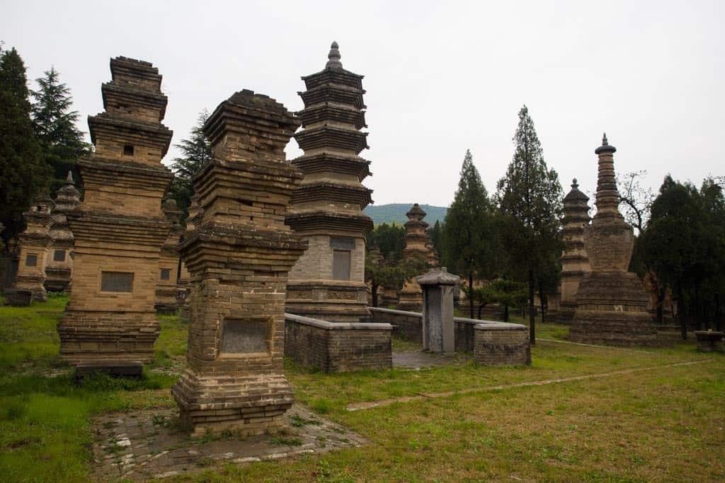 Pagoda Forest Stupas