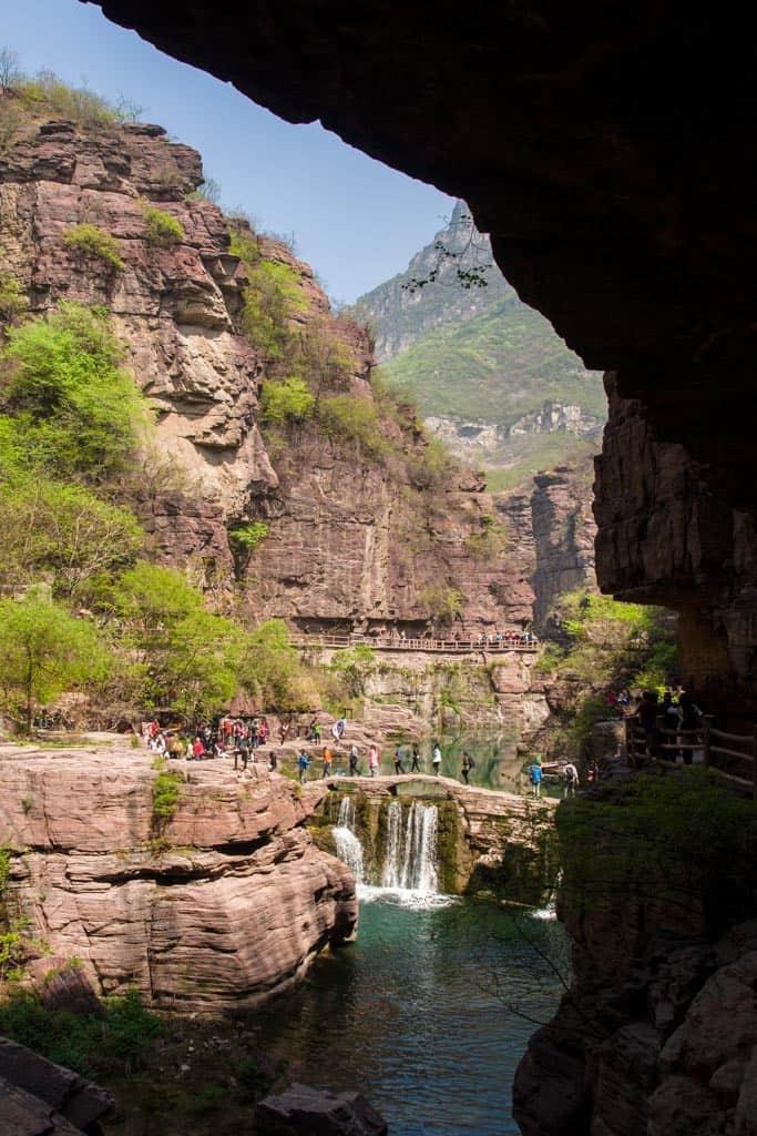 Yuntai Mountain Red Stone Gorge Opening