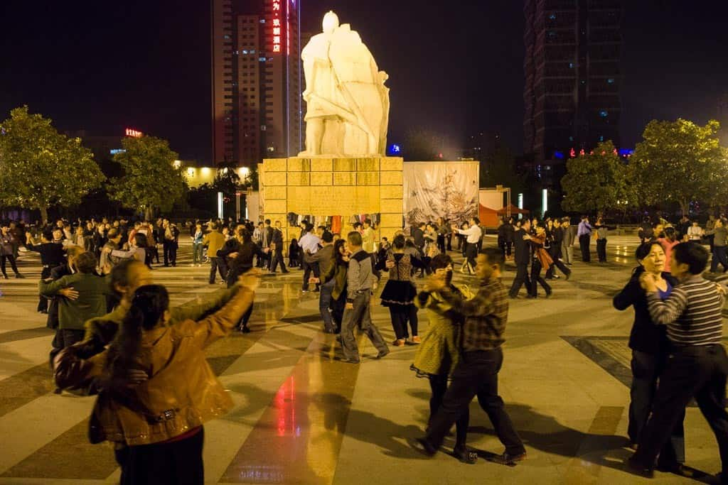 Luoyang Local Square Waltzing