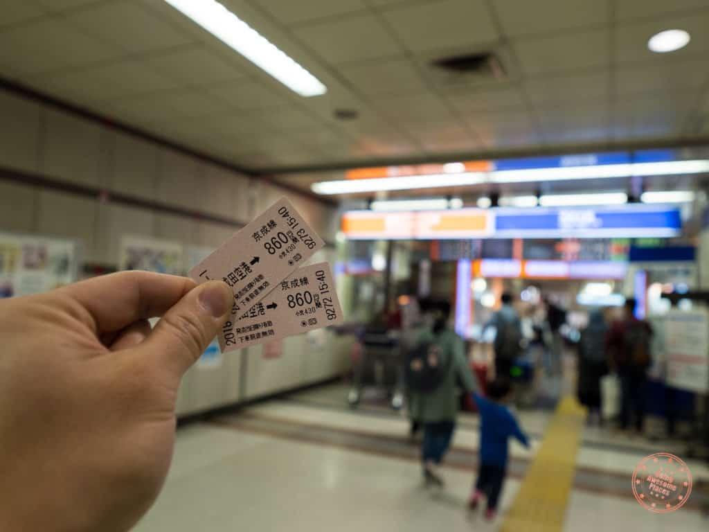 getting around tokyo by train ticket