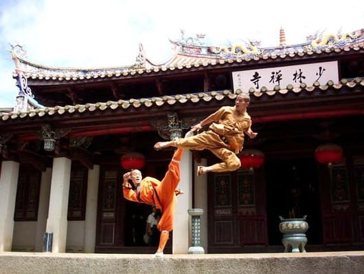 Shaolin Temple, the first establishment that institutionalized kung fu Credit: China Tour Online