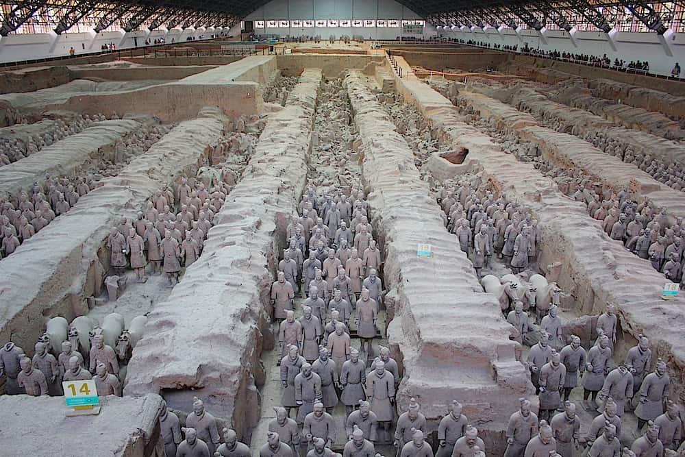 Inside Emperor Qin Shi Huang's Mausoleum Credit: Travel Adept