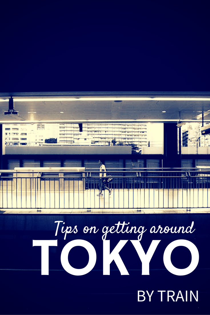Tokyo Transportation Tips - Best Way to Get Around Tokyo By Train
