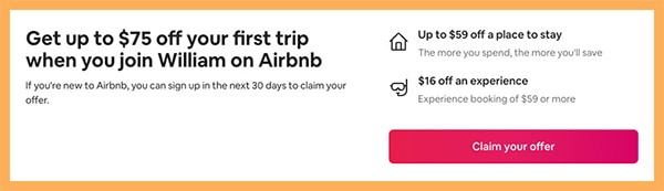 airbnb sign up bonus get free credit