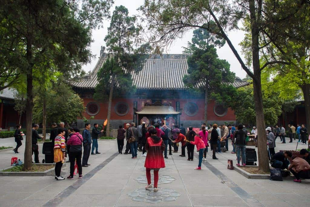 Within White Horse Temple
