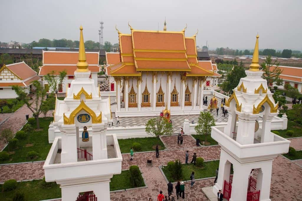 Thailand Temples at White Horse Temple.