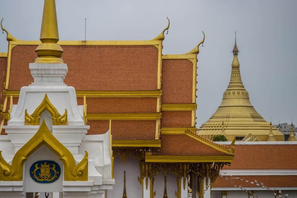 A Little Thailand Inside White Horse Temple