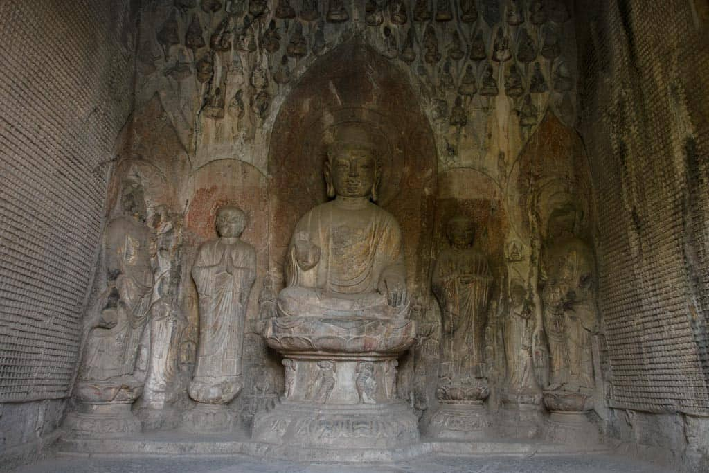 15000 Buddha Cave in Longmen Grottoes