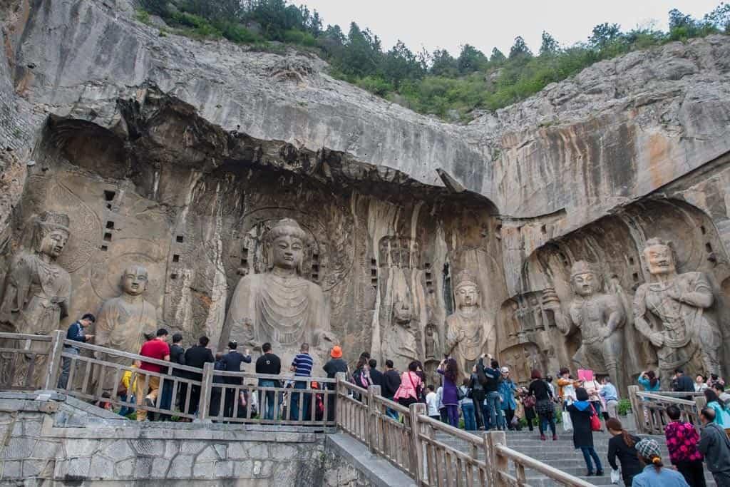Main Longmen Grottoes Carving