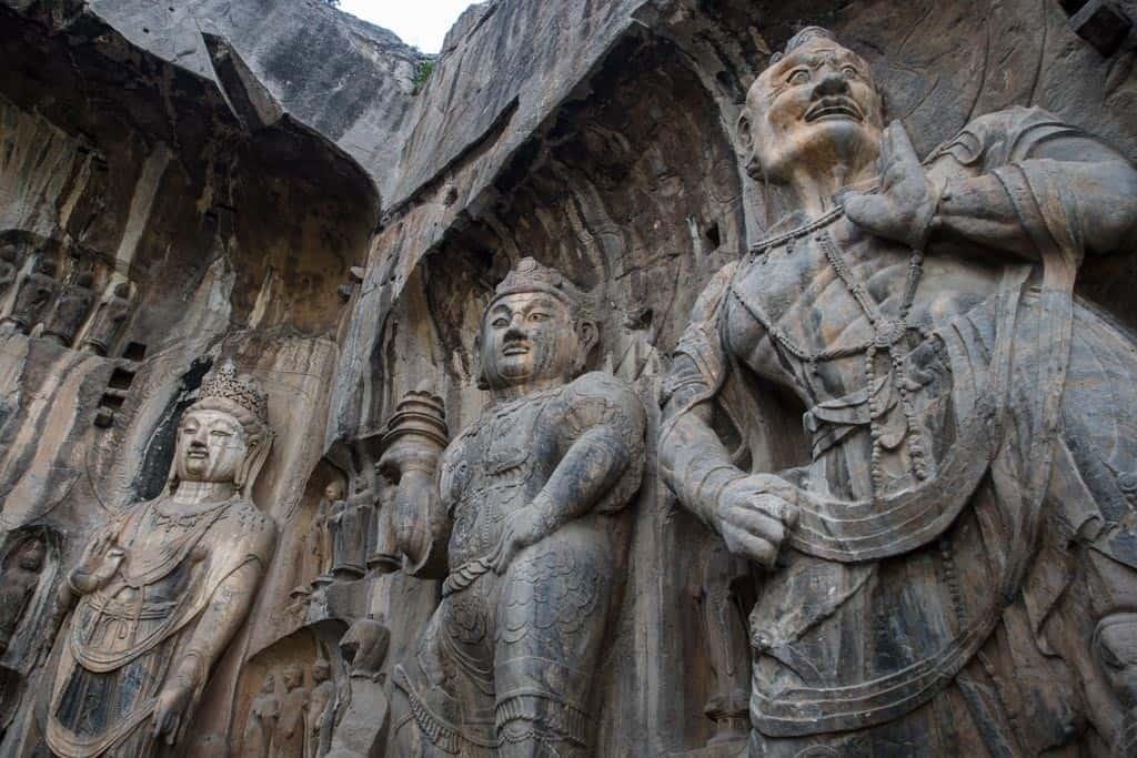 Vairocana Buddha's disciples