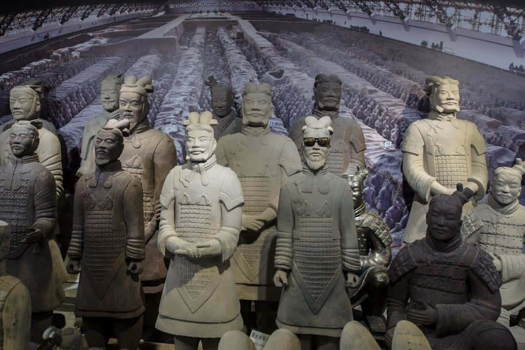 Terracotta Warriors with Sunglasses